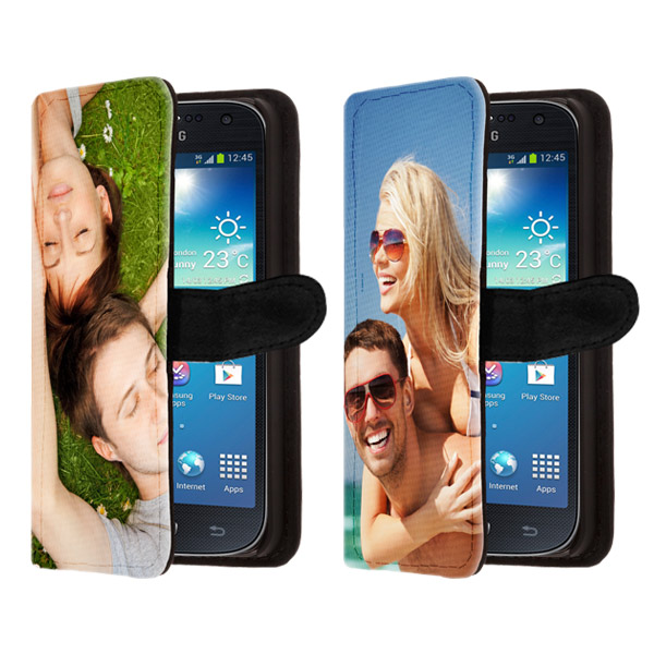 Samsung Galaxy S4 mini wallet case hoesje ontwerpen