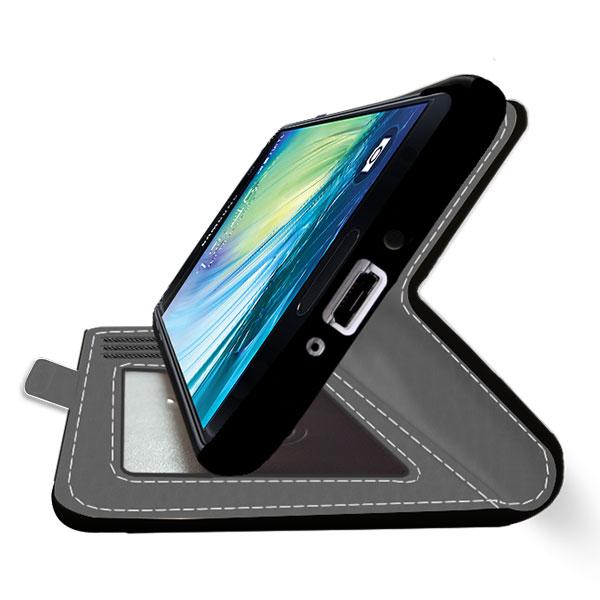 Galaxy A5 Hülle selbst gestalten (Portemonnaie Hülle)