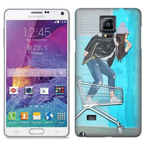 Samsung Galaxy note 4 hoesje maken