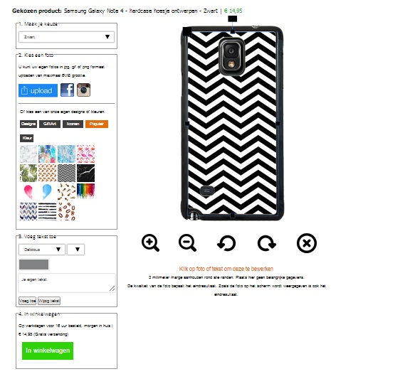 Personalized Samsung Galaxy Note phone case
