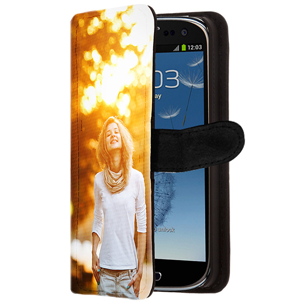samsung galaxy s3 h lle selbst gestalten flip case. Black Bedroom Furniture Sets. Home Design Ideas