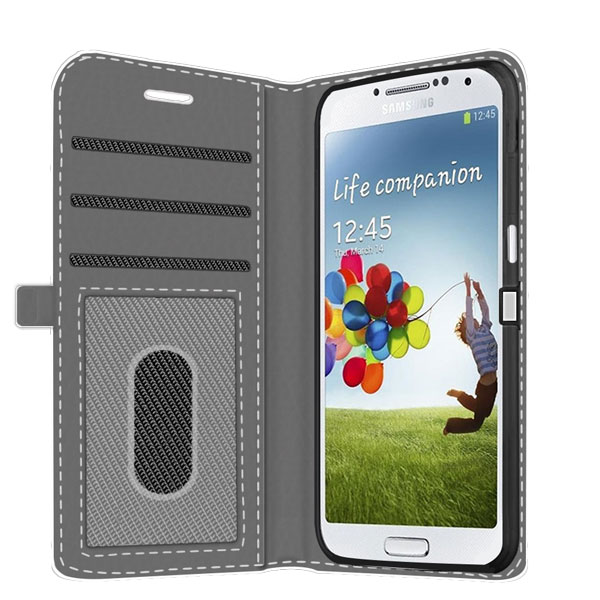 design your own samsung galaxy S4 wallet case