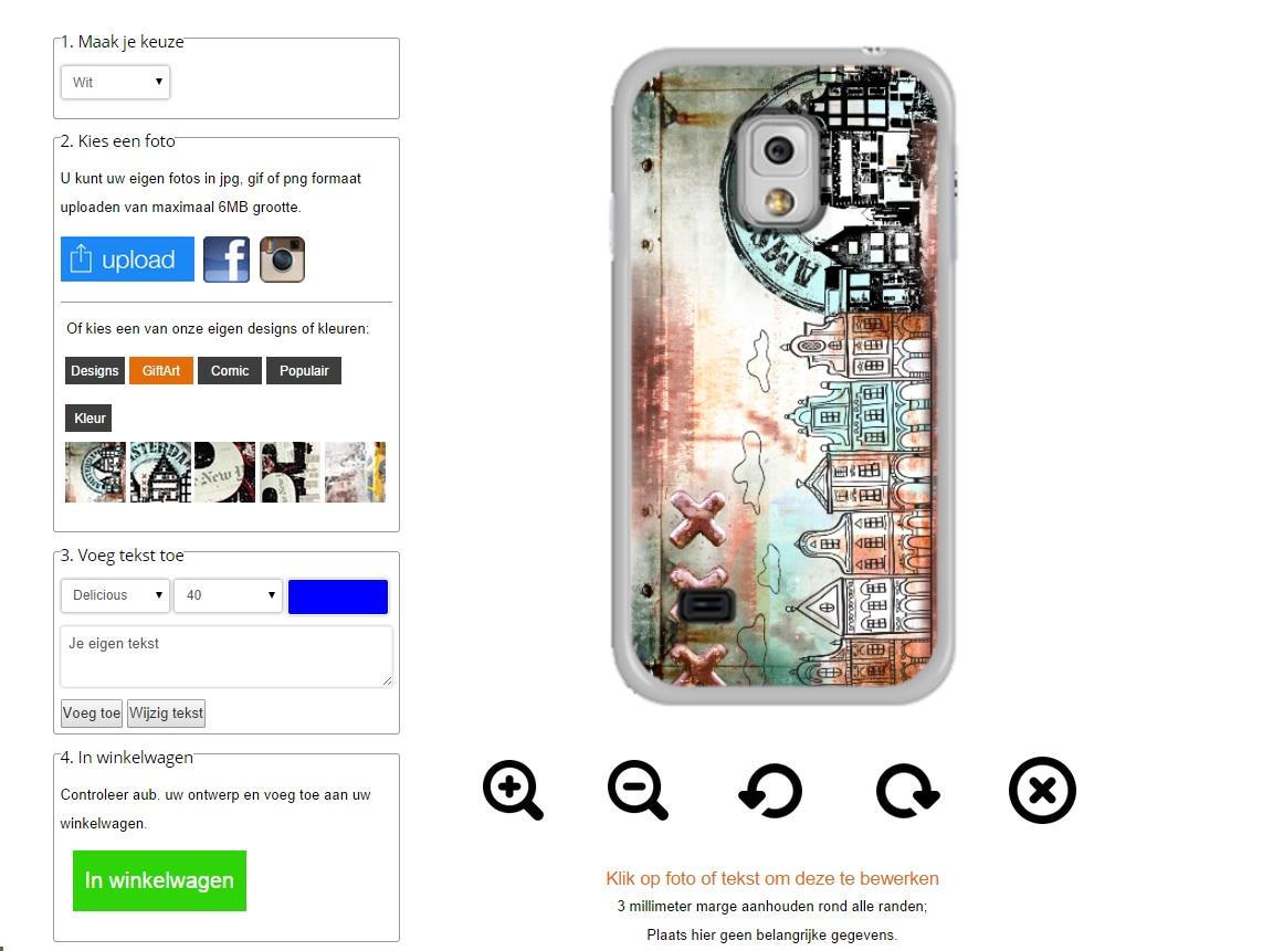 Samsung Galaxy S5 Mini Hardcase