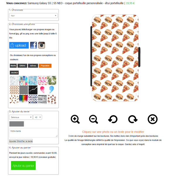 Personalized Samsung Galaxy S5 case