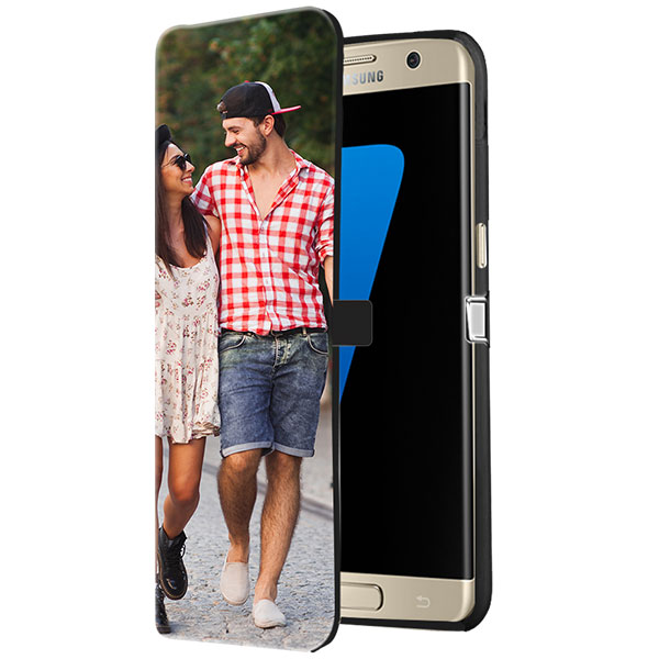 Personalised Samsung Galaxy S7 Edge wallet case