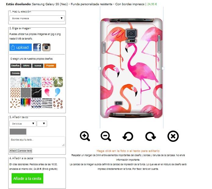 Custom Samsung Galaxy S5 tough case