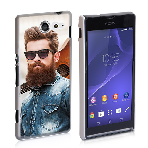 design your own Sony Xperia M2 hard case
