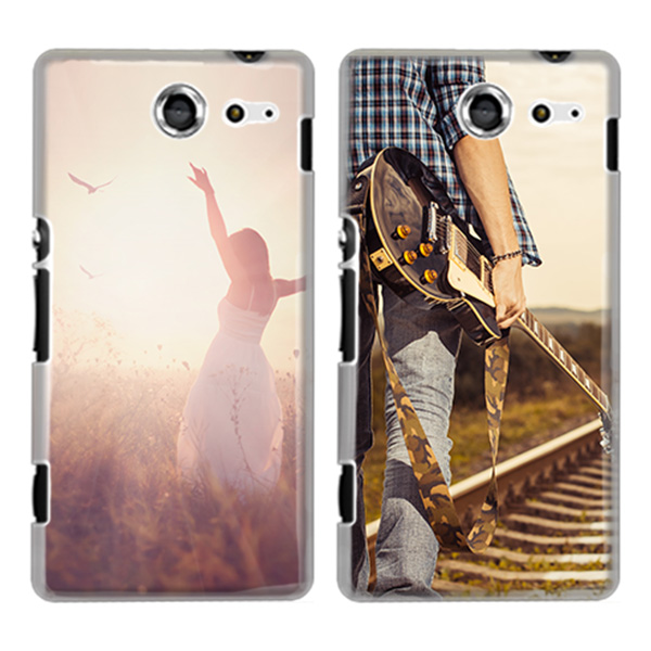 personalised Sony Xperia M2 hard case