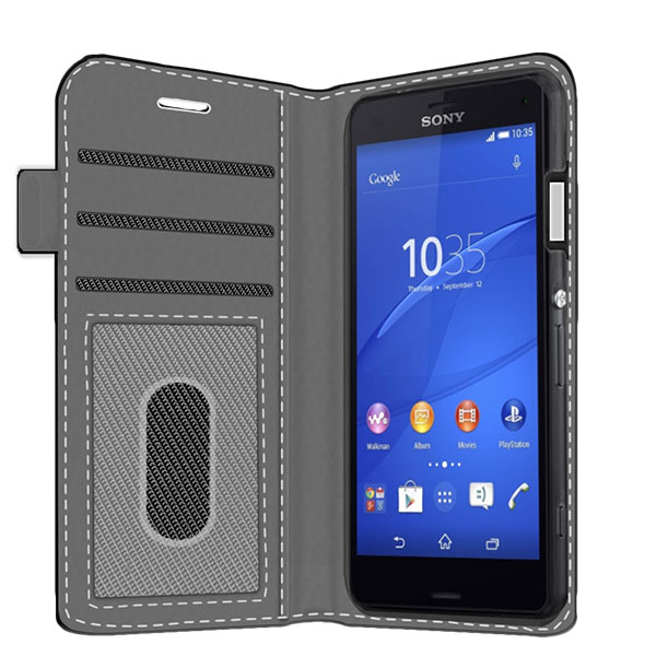 create your own wallet case sony xperia z3 compact