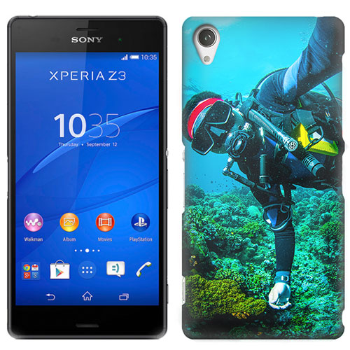 make your own Sony Xperia Z3 phone case