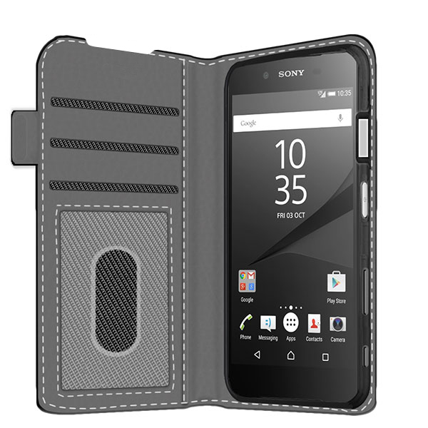 Design your own Sony Xperia Z5 Compact wallet case