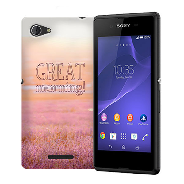 design your own Sony Xperia E3 hard case