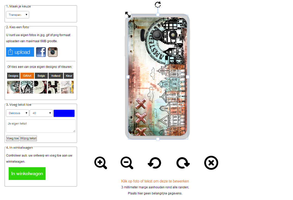Design your own Huawei Y300 phone case